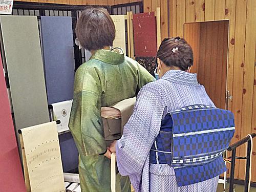 松葉きもの学院 駒川教室